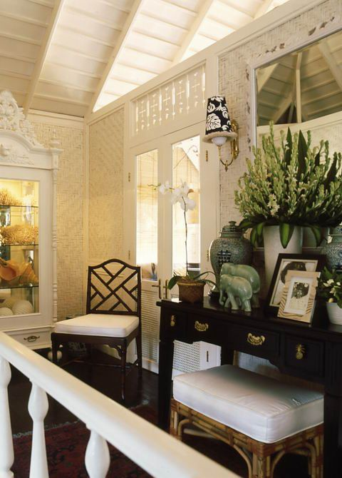>Love the console styling  Design Icon Celebrates Colonial Plantation Style | Oceania Island Living
