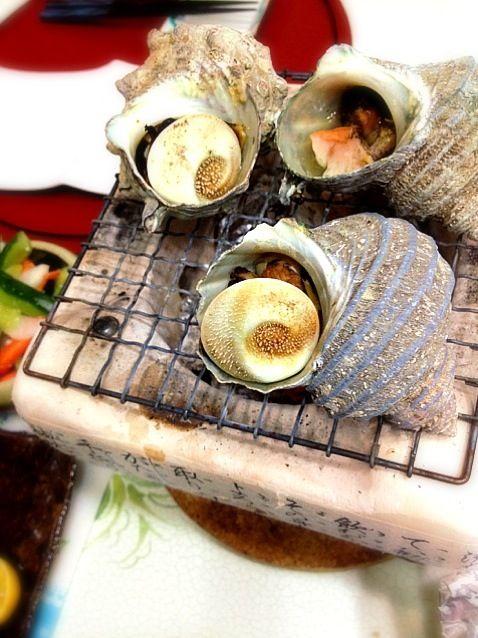 海鮮祭り〜 - 34件のもぐもぐ - サザエつぼ焼き by marron(まろん)