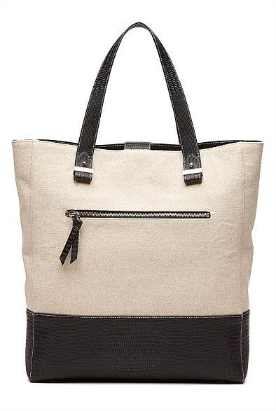 Heather Colour Block Tote #witcherywishlist