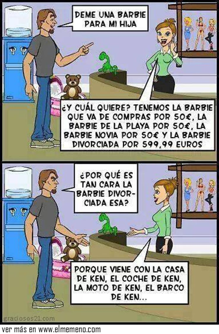 La barbie divorciada es la ganadora @ www.elmemeno.com
