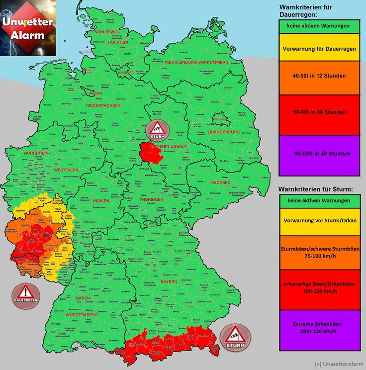 +++Tiefdruckgebiet sorgt für #Dauerregen in RLP und Saarland, orkanartige Böen in den #Alpen sowie auf dem Brocken+++
