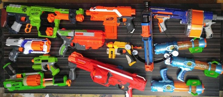HUGE Party Nerf Lot 13 Guns Crossbow Raider cs-35 RotoFury N-Strike Doominator  | Toys & Hobbies, Outdoor Toys & Structures, Dart Guns & Soft Darts | eBay!