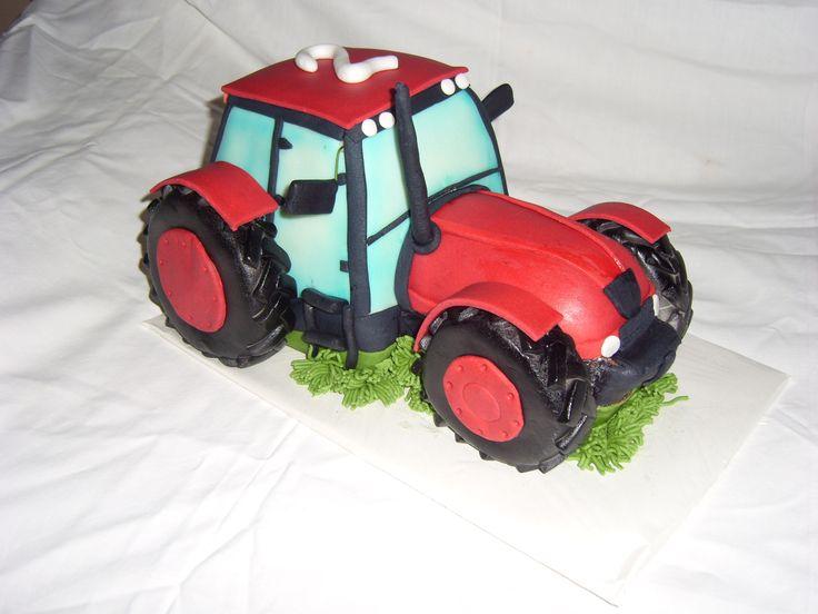 dort traktor cake tractor