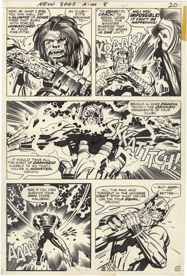 The New Gods, Issue 8, Page 17 kirby