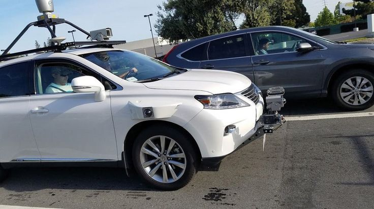 First-ever photos of Apple's self-driving test car surface online