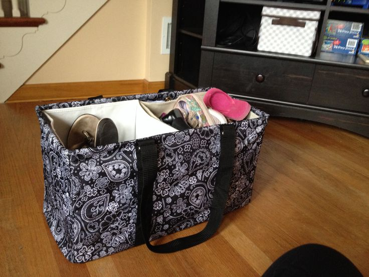 Monogram Tote Bags Thirty One Stand Tall Bin