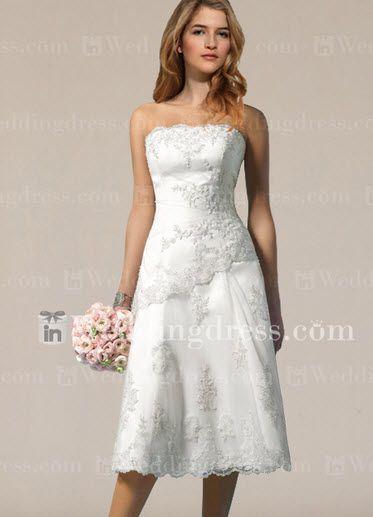 Fabulous inweddingdress BCS Size Wedding Dress