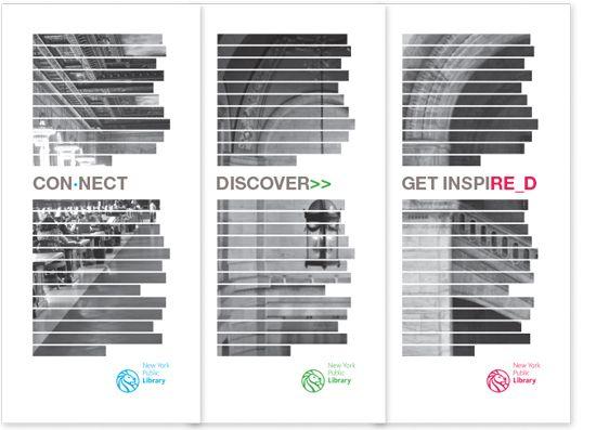 12 Best Library Brochures Images On Pinterest Brochures High