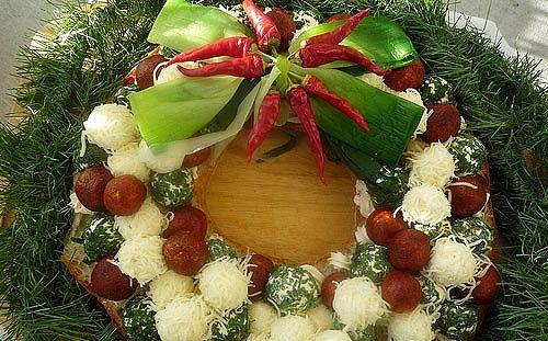 Рождественские рецепты салатов с фото