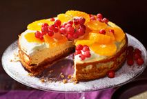Baked vanilla and clementine cheesecake – Recipes – Slimming World - 4.5 syns (serves 10)