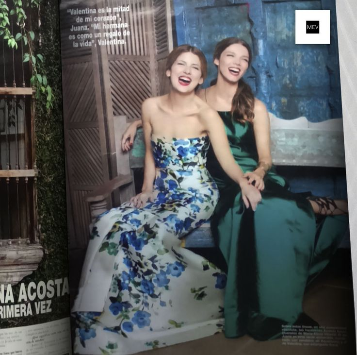 Juanita y Valentina Acosta, mujeres MEV. Feliz Aniversario Revista Hola Colombia  @juana_acosta @valetinabailarina @revistaholacolombia