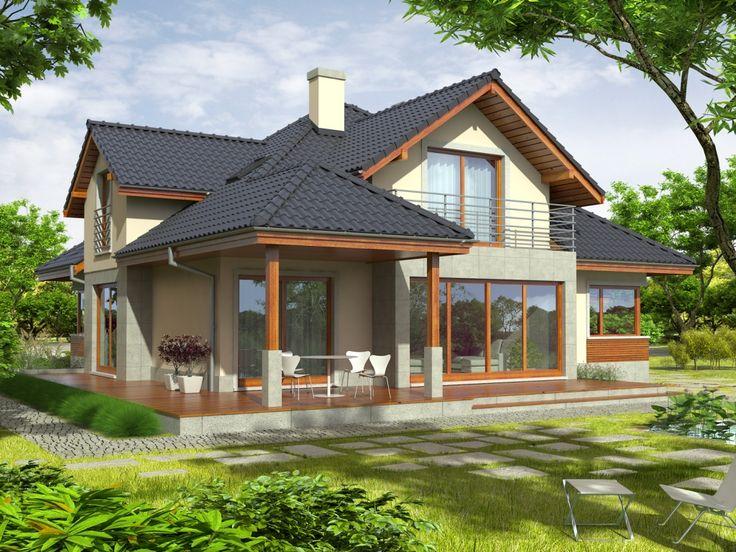 Ciekawie zaprojektowane detale, harmonijnie komponują się z szykowną elewacją budynku.