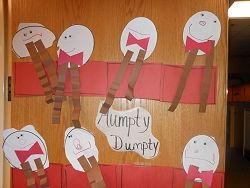 A lot of ideas for activities, crafts, snacks,.... to use with nursery rhymes