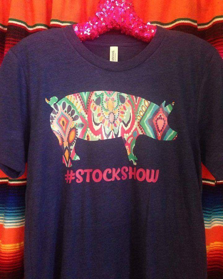 Custom Order: Stock Show Pig