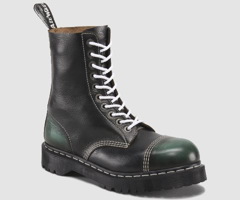 Dr, Martens Blue and Green 8761 Bxb Boot