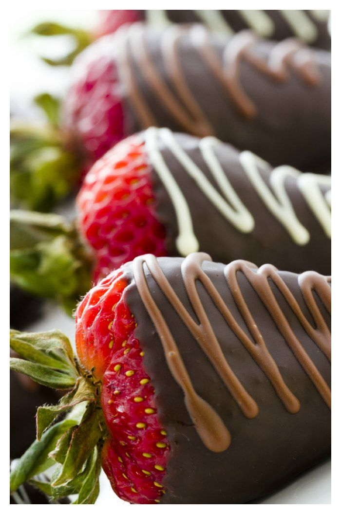 Try the very easy chocolate covered strawberries recipe. They look…