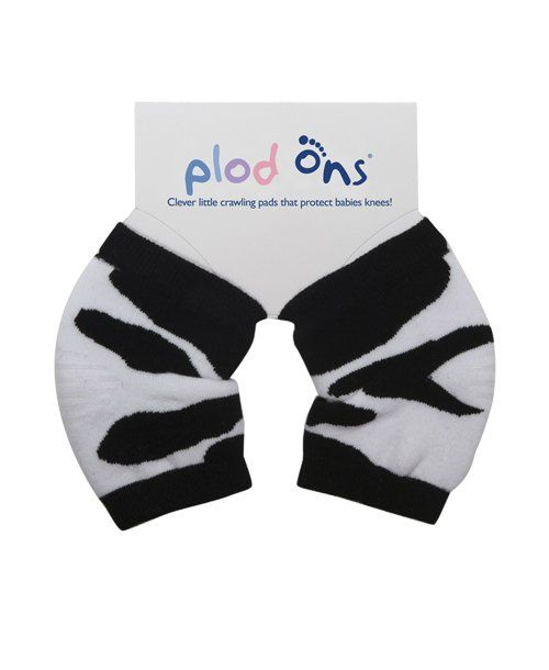 Perfect for your crawling baby, Plod Ons protect her knees from the hard floor. They're made of soft, stretchy cotton, and have non-slip protection right on the knees.  To buy: Amazon, $10