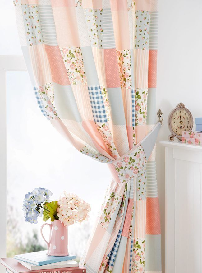 Easy Diy Patchwork Curtain Belfasttelegraph Co Uk