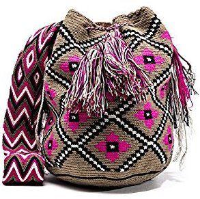 Image result for ultimos diseños de mochilas wayuu