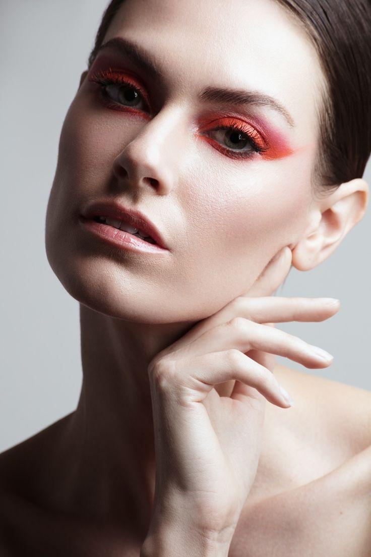 Kate Herman poses for photographer Jeff Tse