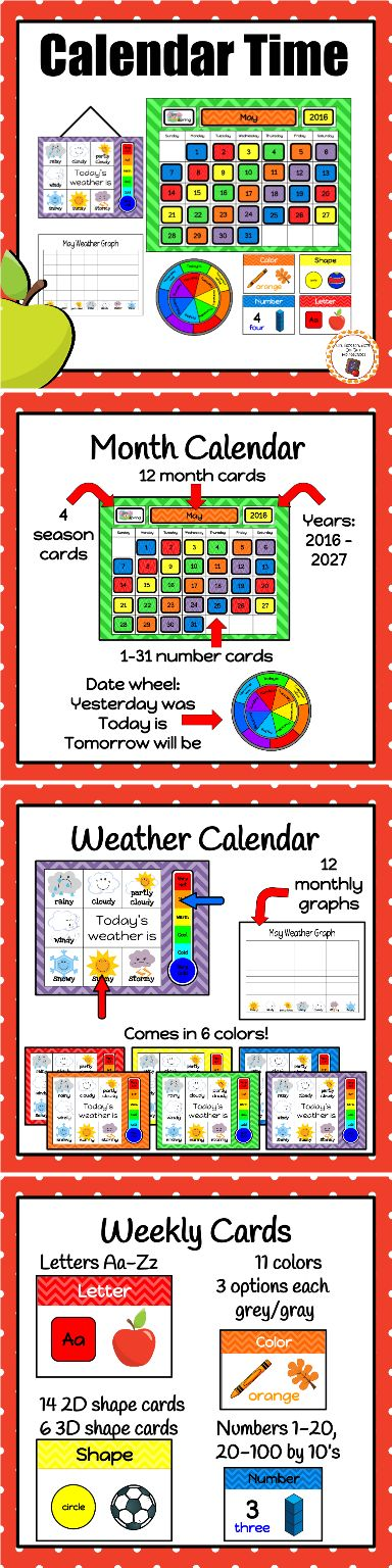 Best 25+ Preschool calendar time ideas on Pinterest Preschool - preschool calendar template