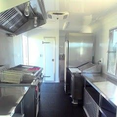"""Quality product, best price, easy ordering, GREAT shipping, I keep Garage Flooring bookmarked for easy reorder. The coin flooring is a standard feature in all of Texas Mobile Kitchens concession trailers."" – Bo***"
