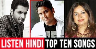 Listen top 10 Hindi Songs online only at #Sabrangradiofm. http://www.sabrangradio.net/TOP10/hindi-top10-listen.html