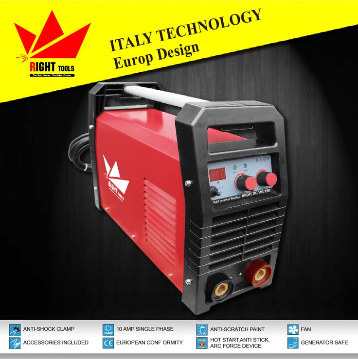 digital control tig dc high frequency 160A argon welding machine price