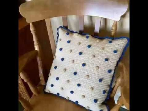 HOW TO CROCHET A PILLOW CASE-STEP BY STEP