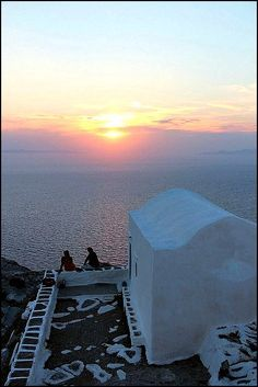 Sunset in Sikinos island, Greece - selected by www.oiamansion.com