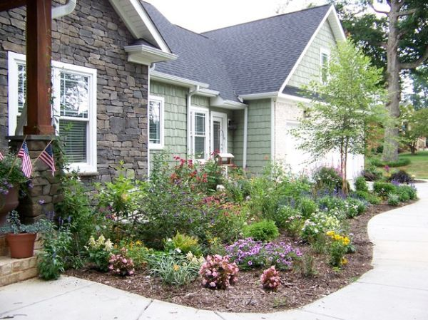 1000 images about corner lot landscaping ideas on for Craftsman landscape design ideas