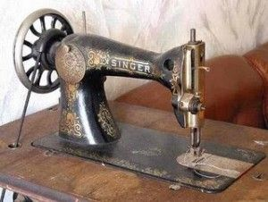 Singer sewing machine plus history of sewing machines at this Blog post from Londa