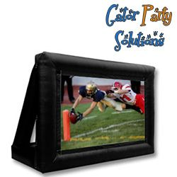 #Inflatable Movie Screen #Rental in #Gainesville, Fl - #Newberry, Fl and Alachua county surroundings. - Gator Party Solutions Perfect for outdoor movie nights or tailgating events
