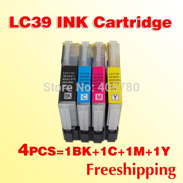 4x LC39 Ink cartridges for Brother LC985 DCP-J315W MFC-J415W MFC-J220 DCP-J125 printer cartridges Nail That Deal http://nailthatdeal.com/products/4x-lc39-ink-cartridges-for-brother-lc985-dcp-j315w-mfc-j415w-mfc-j220-dcp-j125-printer-cartridges/ #shopping #nailthatdeal