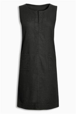 Buy Linen Blend Dress online today at Next: Israel