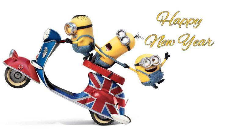 happy new year 2016 funny minions (1)
