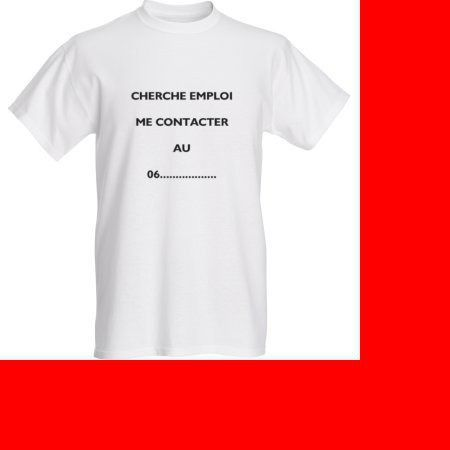 COMMENT TROUVER DU TRAVAIL T-SHIRT : T-Shirt, debardeurs par elle-n