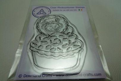 Snowman Cupcake Stamp
