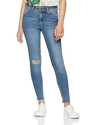 W31/L32 (Manufacturer size: 31), Blue (Medium Blue Denim), Vero Moda Women's Vms