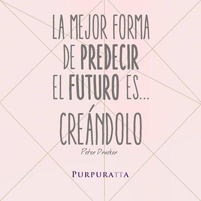 La mejor forma de predecir el futuro es... Creándolo / The best way to predict future is... to build it