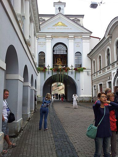 "Vilnius: The Gate of Dawn (""Ostra Brama"").  Find out more about PO Kingdom of Poland Tour itinerary: http://polishorigins.com/document/kingdom_tour"