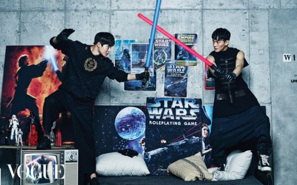 exo vogue magazine star wars december 2015 photos