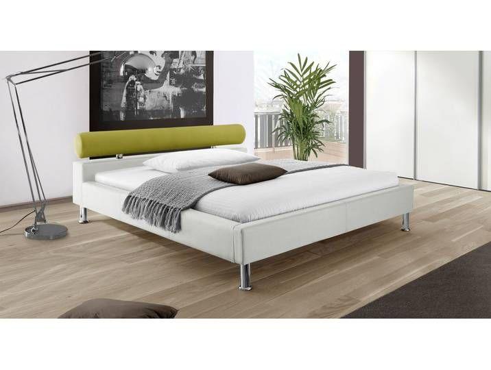 Polsterbett Meise Möbel Leder 180x200 Cm Weiß Bett