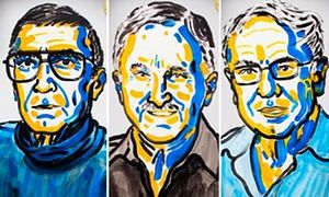 The 2015 Nobel prize in chemistry has been won by Aziz Sancar, Tomas Lindahl, and Paul Modrich for mapping and explaining how cells repair their DNA and safeguard the genetic information