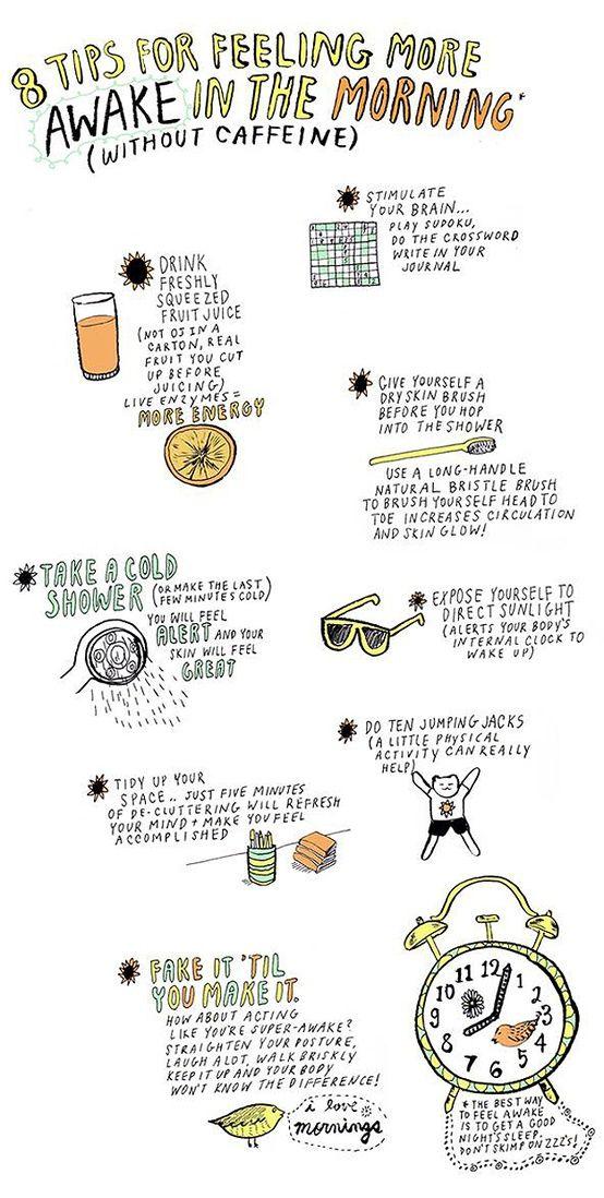 Tips for Feeling More Awake in the Morning