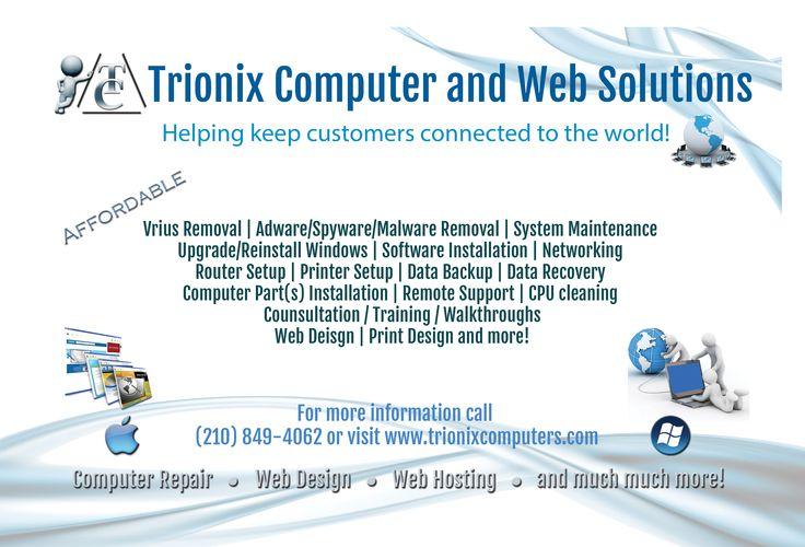 Trionix Computers Flyer!