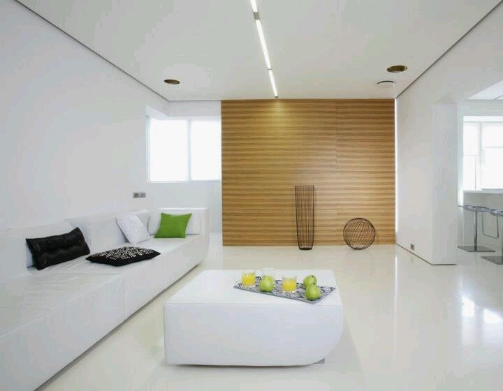 white cube moscow 1 minimalist apartment design in moscow spiced up with bold colors white cube