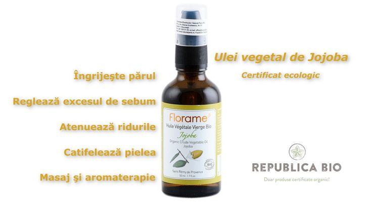 Uite un ulei vegetal bun pentru un păr strălucitor şi o piele catifelată. Sau pentru un masaj relaxant şi aromat.