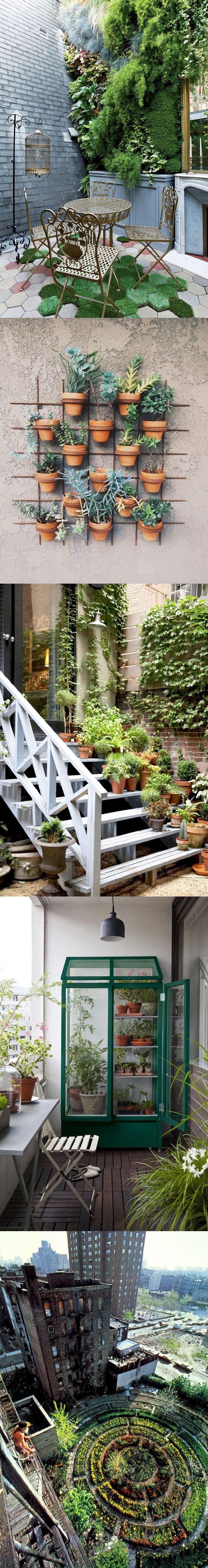 Chi ha detto che la città è grigia? the best of. #urban #gardens