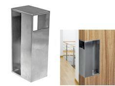 Stainless Steel Sliding Door Handle & Pocket Door Edge Pull